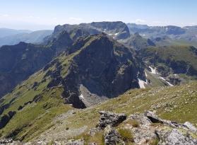 Дългият рид, Мальовица, Ловница и Попова капа