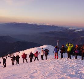 Славянка - снегоходки, СПА, водопад и гурме